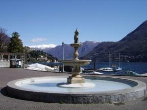 La fontana di piazza Risorgimento