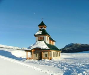 Immmersa nella neve