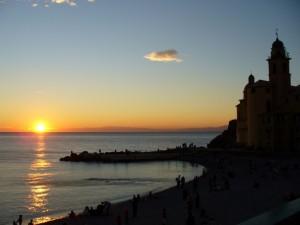 La Basilica di S. Maria Assunta al tramonto (buona)