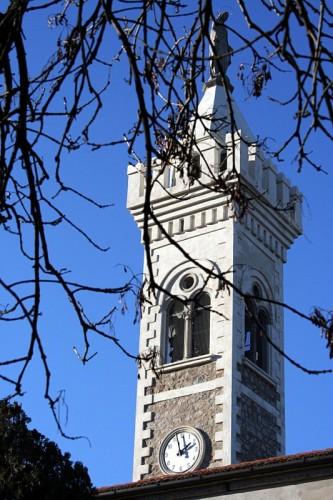 Teolo - il campanile bianco