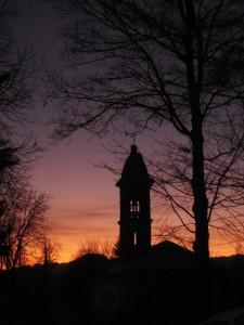 Un limpido tramonto..
