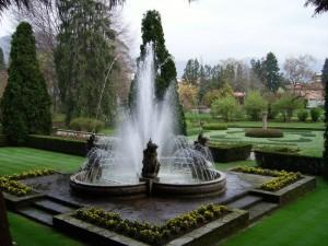 La fontana di Villa Taranto