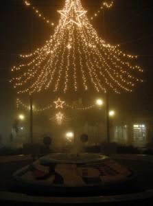 Foschia natalizia a Marina di Ravenna