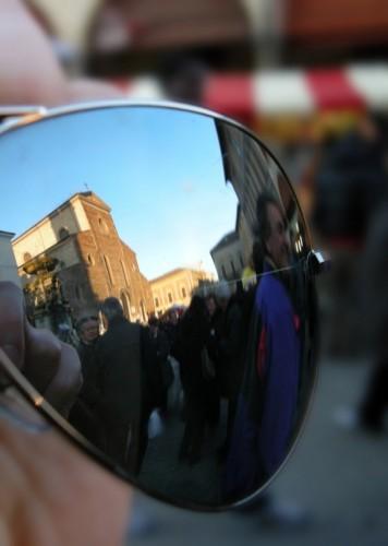 Faenza - Osservando il duomo