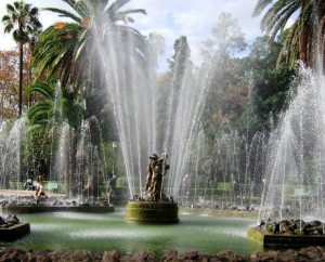 Spruzzi alla fontana