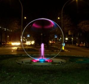 Fontana sulla rotonda