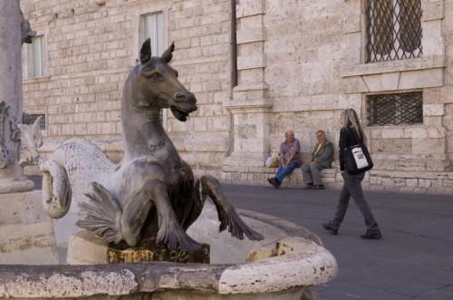 Ascoli Piceno - La fontana di Piazza Arringo