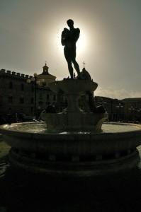 Fontana in Piazza Duomo
