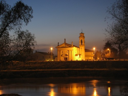 Ponte San Nicolò - Riflessi al crepuscolo