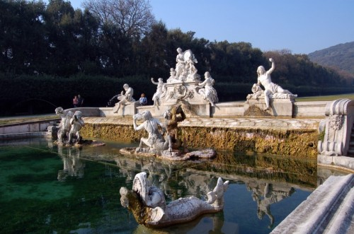 Caserta - parco della reggia: fontana di Cerere