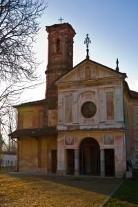 La chiesa della Madonna della Neve di Campra