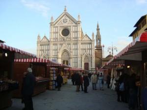 Basilica  Santa Croce :animazione natalizia