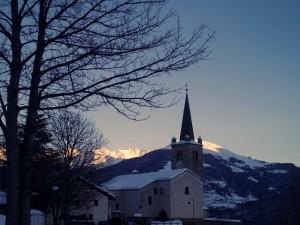 chiesa nei dintorni di Aosta