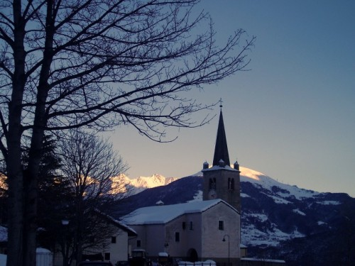 Saint-Nicolas - chiesa nei dintorni di Aosta