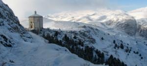 Santa Maria della Pietà sotto la neve