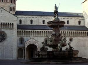 la fontana del nettuno.