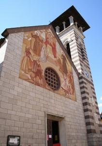 La facciata dipinta