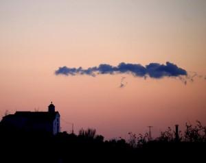 Poco prima del tramonto