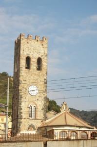 La chiesa e i binari.