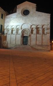 Notturno della facciata Termoli