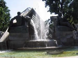 Fontana piazza Solferino,Torino.