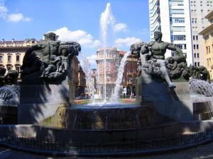 Fontana piazza Solferino 3,Torino.