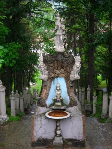 Varzi - CELLA DI VARZI - Fontana del Tempio della Fraternità