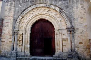 portale dell'abbazia della Sambucina