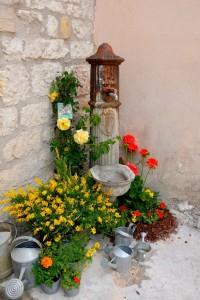 Fontanella e fiori….
