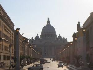 la via per S.Pietro