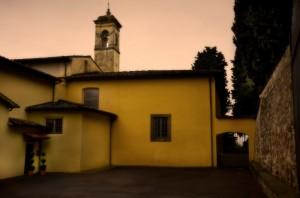 """Il convento dei Carmelitani sul """"far della sera"""""""
