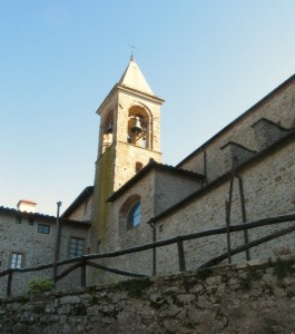 Sandetole, il campanile
