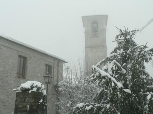 Cerano d'Intelvi - sotto la neve