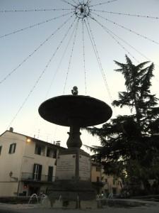 La fontana di piazza Vittorio Emanuele II