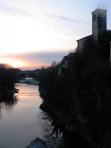 Cividale al tramonto