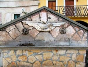 Fontana dell'Aquila a Rocca Pia