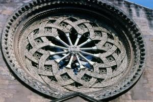 Rosone della Chiesa di Sant'Agostino a Trapani