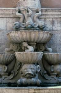 Fontana di Saturno a Trapani