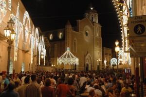Il Duomo di  Lucera a ferragosto