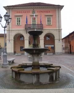 Fontana in piazza del Municipio