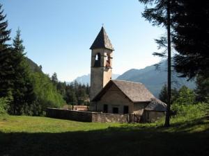 Damòs di Cadore - Chiesa di S. Andrea e S. Giovanni