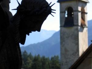 Damòs di Cadore - Chiesa dei Santi Andrea e Giovanni - Il Crocifisso