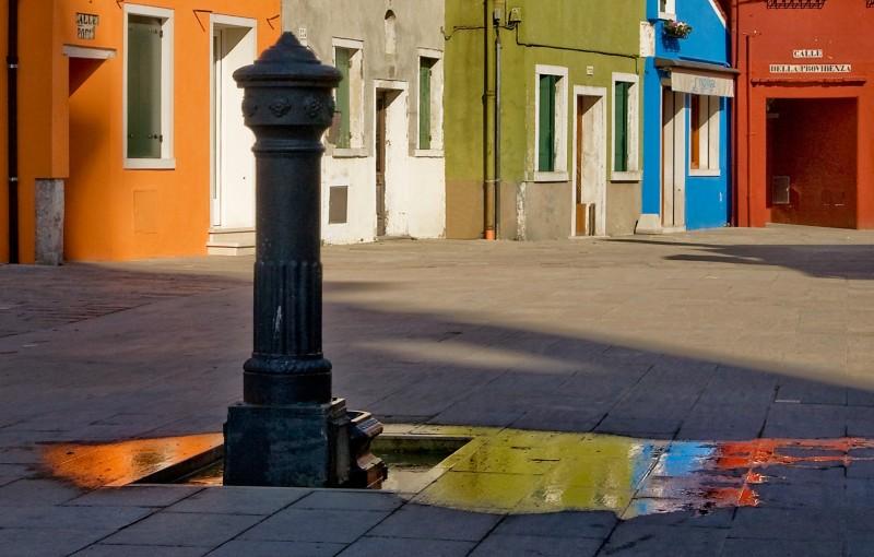 ''Fontane a Burano'' - Venezia