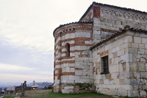 Montiglio Monferrato - Il pellegrino e San Lorenzo