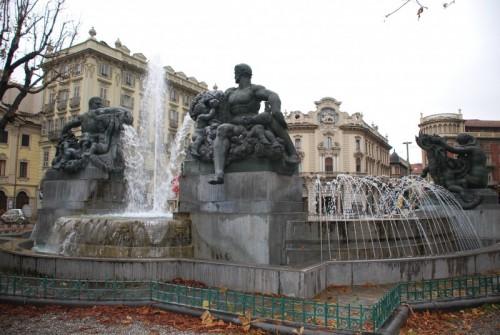 Torino - Fontana Angelica o Delle Quattro Stagioni