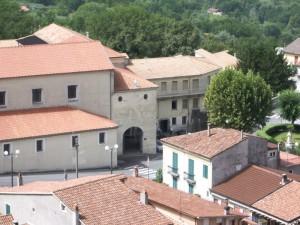 Il convento dell'Immacolata.