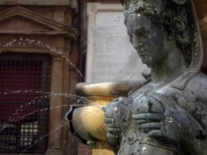 fontana di Nettuno - particolare