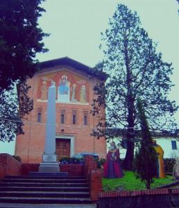 I Re Magi fuori dalla Parrocchia San Matteo in La Rotta