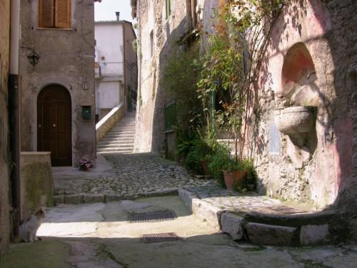 Arsoli - La fontanella del vicolo