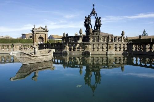 Viterbo - Fontana dei Mori